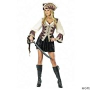 Royal Lady Pirate Adult Costume Adult Medium/Large 8-12