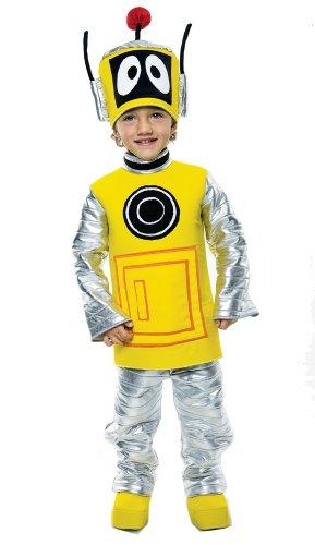 Yo Gabba Gabba Deluxe Plex Toddler Costume, 2T