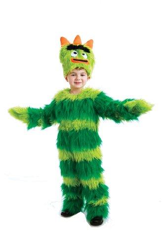 Yo Gabba Gabba Deluxe Brobee Toddler Costume, 3-4T