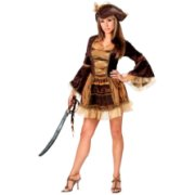 Fun World Costumes Womens Sassy Victorian Pirate