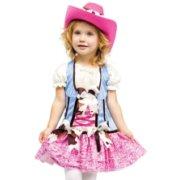 Fun World Toddler Girls Cowgirl Cowboy Rodeo Halloween Costume