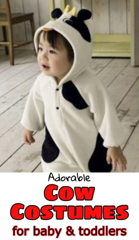 Absolutely ADORABLE Cow Costumes for babies!  Great cow costume ideas for your baby, toddler, or child - so cute.