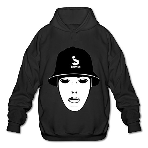 Jabbawockeez Tour 2016 Logo Hooded Sweatshirt For Men Black