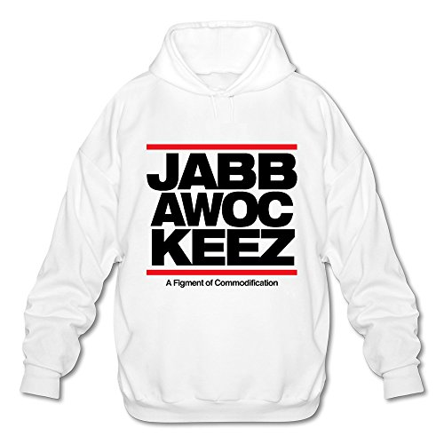 Jabbawockeez Tour 2016 Hooded Sweatshirt For Men White