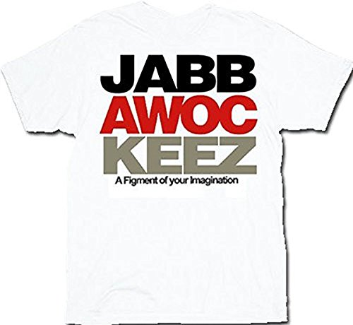 Jabbawockeez Dance Stack Logo White T-shirt Tee (Medium)