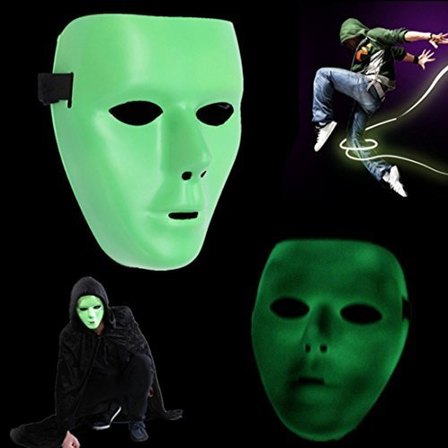 Ungfu Mall Jabbawockeez Mask Halloween Ghost Dance Hip-hop Performances Masks Party Dress Mask