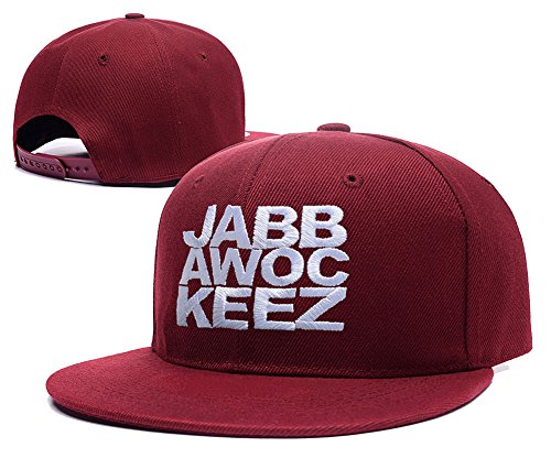 ZZZB Jabbawockeez Logo Adjustable Snapback Embroidery Hats Caps - Red